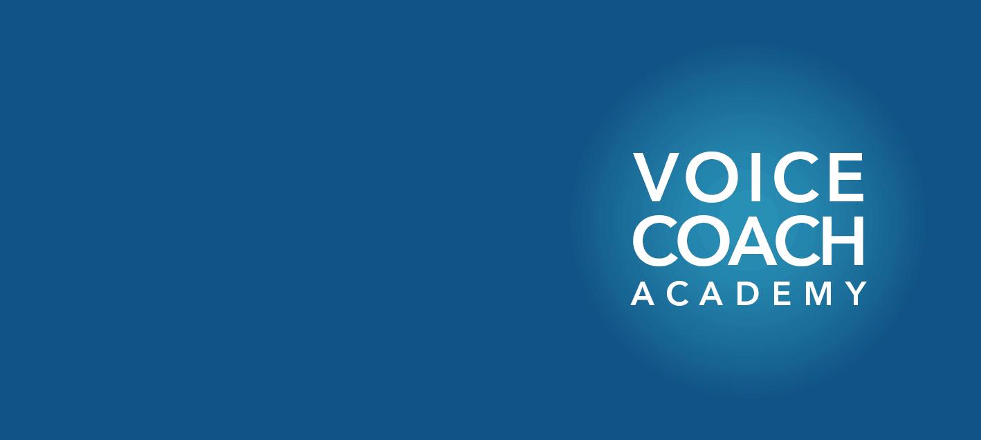 Certifikationslogo. Certificeret Stemmecoach v. KLaus Møller på Voice Coach Academy.